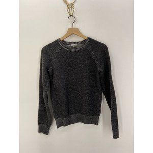 Heather Tees Crew Neck Long Sleeve Sweater Size XS